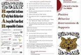 Parent Brochure Templates Pbis Pbis Parent Brochure