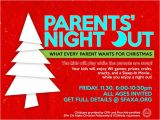 Parents Night Out Flyer Template Free 1110 Best Images About Pto Stuff On Pinterest Volunteers