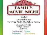 Parents Night Out Flyer Template Free 33 Awesome Movie Night Template Flyer Free Images Stuff