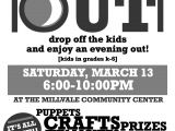 Parents Night Out Flyer Template Free Millvale Matters Caring for the People Of Millvale Page 2