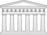 Parthenon Template This is An Outline Of the Parthenon A Doric Temple This