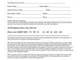 Participant Registration form Template Flag Tackle Football Youth Participant Registration form