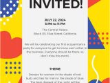 Party Invitation Email Template 15 Email Invitation Template Free Sample Example