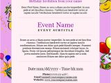 Party Invitation Email Template 23 Birthday Invitation Email Templates Psd Eps Ai
