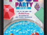 Party Invitation Flyer Templates 33 Printable Pool Party Invitations Psd Ai Eps Word