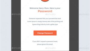 Password Reset Notification Email Template Notify Notification Email Template Psd by