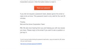 Password Reset Request Email Template Password Reset Email Template Design and Best Practices