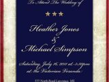 Patriotic Invitation Templates Free 4th Of July Patriotic Wedding theme Inspirations