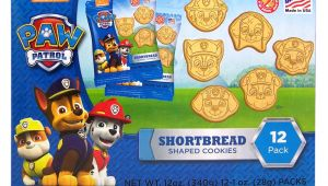 Paw Patrol Wrapping Paper Card Factory Paw Patrol Shortbread Cookies 12 Count