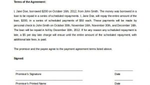 Payment Contract Template Payment Plan Agreement Template 12 Free Word Pdf