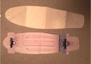 Penny Board Template How to Make An Old Skateboard Into A Mini Cruiser Spray