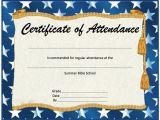 Perfect attendance Certificate Template Perfect attendance Certificate Template Microsoft Word