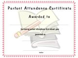 Perfect attendance Certificate Template Perfect attendance Funny Quotes Quotesgram
