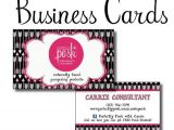 Perfectly Posh Business Card Template Items Similar to Perfectly Posh Diy Business Cards for