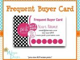 Perfectly Posh Business Card Template Perfectly Posh Frequent Buyer Card Business Card by