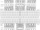 Periodontal Chart Template Periodontal Probing Chart Template Perio Chart Heart