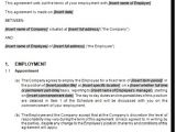 Permanent Employment Contract Template 9 Permanent Contract Of Employment Template Rppxa