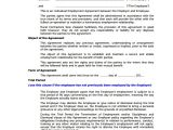 Permanent Employment Contract Template Sample Individual Employment Agreement 9 Documents In