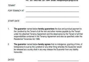 Personal Guarantee Template Uk Template Personal Guarantee Agreement Template