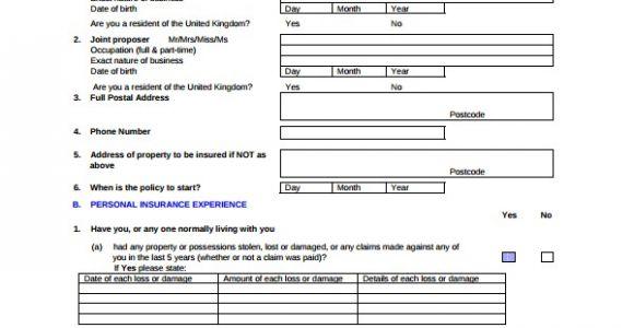 Personal Insurance Proposal Template 12 Insurance Proposal Templates Sample Templates