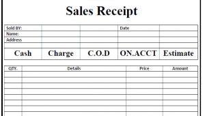 Personal Sales Receipt Template 50 Free Receipt Templates Cash Sales Donation Taxi