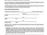 Personal Training Contract Template Uk 8 Training Agreement form Samples Free Sample Example