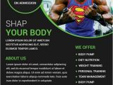 Personal Training Flyer Templates Free Download Gym and Fitness Free Flyer Psd Template