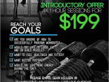 Personal Training Flyer Templates Free Upmarket Modern Personal Trainer Flyer Design for A