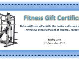 Personal Training Gift Certificate Template 36 Free Gift Certificate Templates Bates On Design