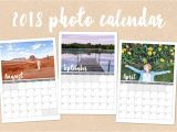 Personalized Photo Calendar Template 2018 Custom Photo Calendar Stationery Templates