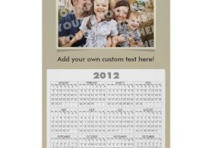Personalized Photo Calendar Template Custom Photo Calendar Poster Template Zazzle