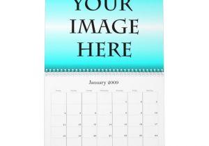 Personalized Photo Calendar Template Personalized Calendar Template Zazzle
