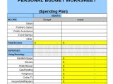 Personnel Budget Template 6 Personal Budget Samples Sample Templates