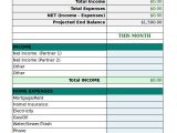 Personnel Budget Template Free Personal Budget Template 9 Free Excel Pdf
