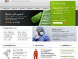 Pest Control Brochure Template Pest Control Website Template 11774