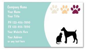 Pet Sitting Business Card Templates Pet Care Business Cards Business Cards and Business