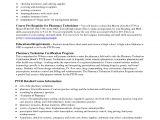 Pharmacist Resume Sample Canada Certified Pharmacy Technician Resume Resume Ideas