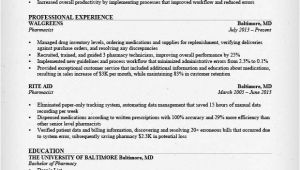 Pharmacist Resume Sample Sample Of Pharmacy Technician Resume Sample Resumes