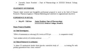 Pharmacovigilance Fresher Resume format Sample Resume Pharmacovigilance Clinical Trial