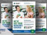 Pharmacy Flyer Template Free Pharmacy Services Flyer Flyer Templates Creative Market