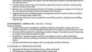 Pharmacy Technician Resume Sample Pharmacy Technician Resume Sample Tips Resumecompanion