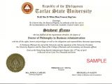 Phd Diploma Template Template Phd Certificate Template