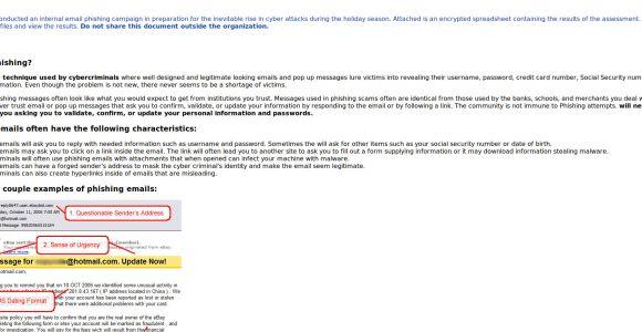 Phishing Awareness Email Template King Phisher Templates Email Templates at Master