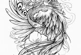 Phoenix Tattoo Template Half Sleeve Tattoo Drawing Designs at Getdrawings Com