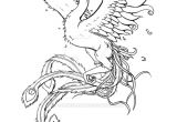 Phoenix Tattoo Template Phoenixfishbird Phoenix Tattoo Commission by Samishii Kami