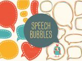 Photo Booth Speech Bubble Template Words Speech Bubbles Photobooth Props Template