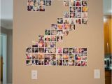 Photo Collage Number Templates Diy Number Photo Collage
