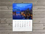 Photo Wall Calendar Template 2018 Printable Calendar Template Monthly Custom Blank