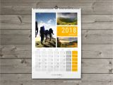 Photo Wall Calendar Template 2018 Wall Calender Planner Monthly Printable Multipage