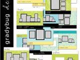 Photo Wall Display Templates Items Similar to Wall Display Templates Set 1 for